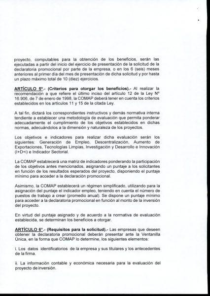 Hoja 4/15 del decreto MEF 172 de 30 de setiembre 2020