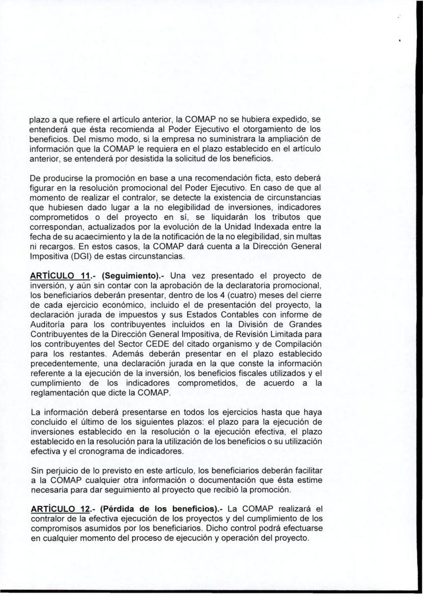 Hoja 6/15 del decreto MEF 172 de 30 de setiembre 2020