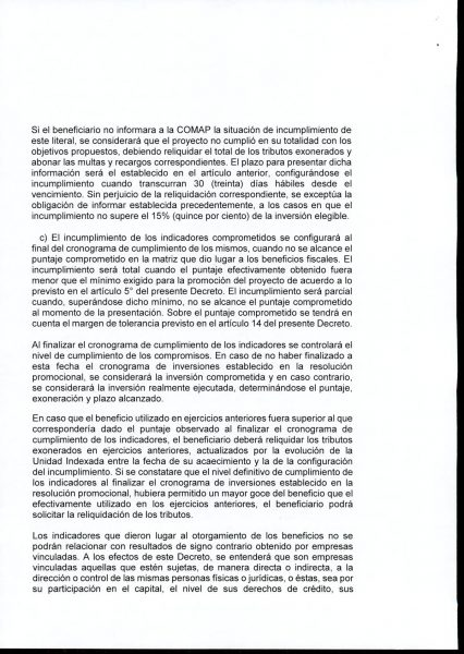 Hoja 8/15 del decreto MEF 172 de 30 de setiembre 2020