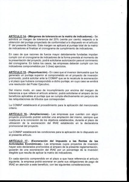 Hoja 10/15 del decreto MEF 172 de 30 de setiembre 2020