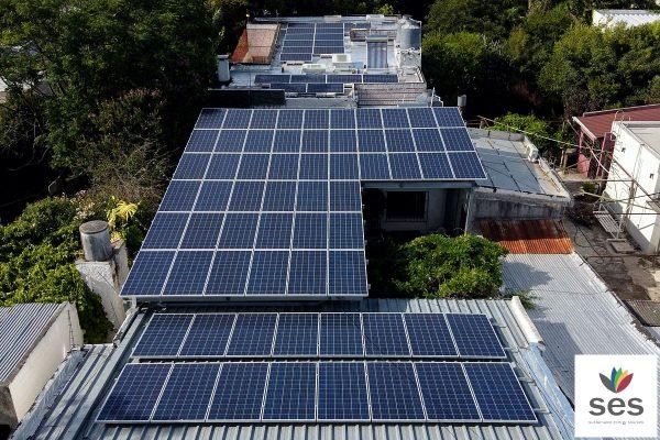 Residencial Cronos autosuficiente con energía solar de SES